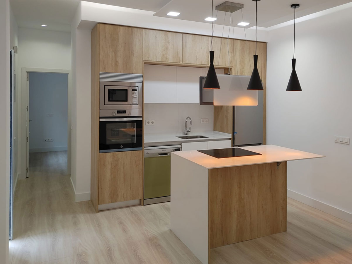 imagen destacada cocina isla apartamento
